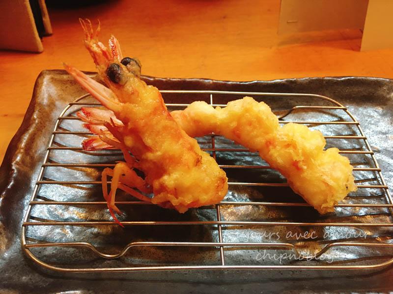 車海老の天ぷら